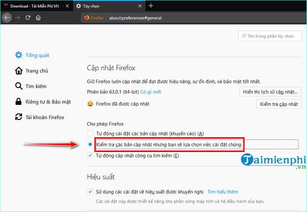 how to disable firefox 6 update