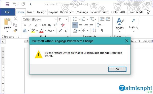 How to change to sleep in office 2019