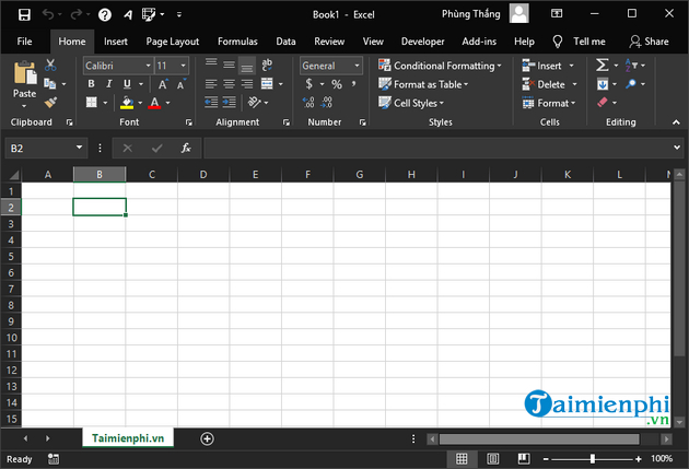 The right direction in office 2019 6