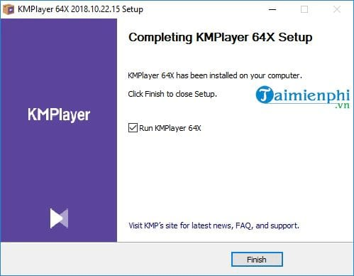 Install and use 64x kmp to listen to music to watch movies 7