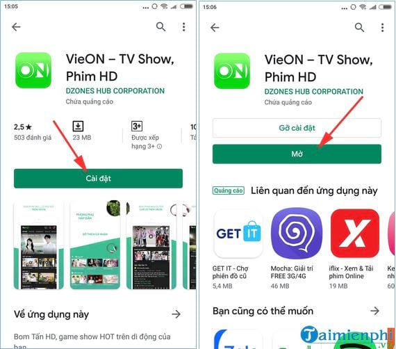 How to install and watch movies on vieon 3