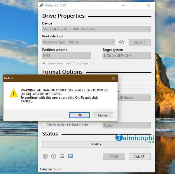 Cách cài Windows 7 bằng usb, tạo usb cài Win 7 8