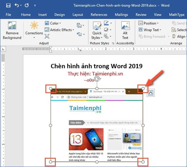 cach chen hinh anh trong word 2019 4