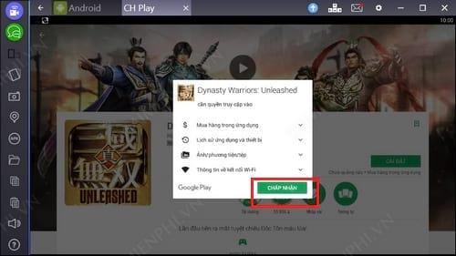 Cách chơi Dynasty Warriors Unleashed trên PC, Laptop bằng Bluestacks 4