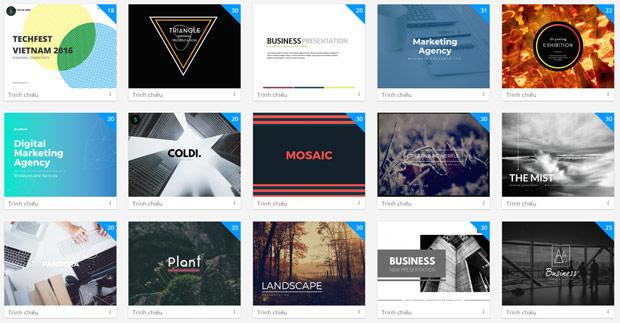 Cách tạo slide đẹp chuyên nghiệp miễn phí với DesignBold