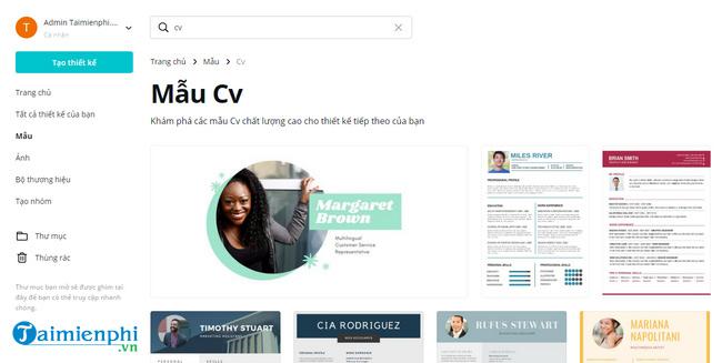 Top 5 web thiết kế CV đỉnh nhất 3