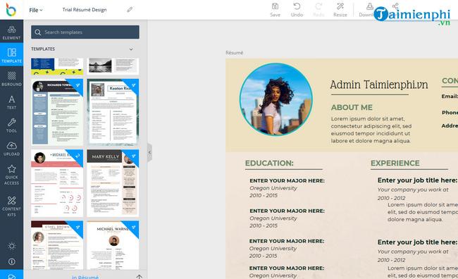 Top 5 web thiết kế CV đỉnh nhất 2