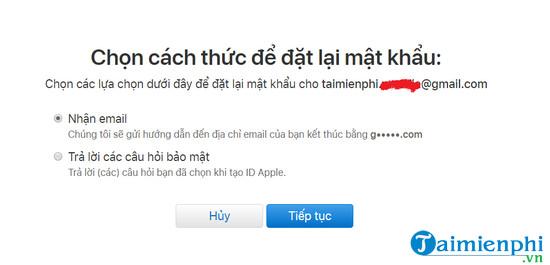 quen mat khau apple id lay lai nhu the nao 4