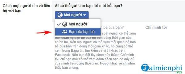 cach de khong cho nguoi khac tim thay facebook cua ban 6