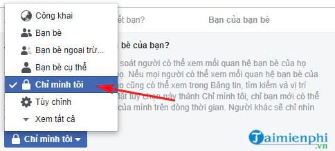 cach de khong cho nguoi khac tim thay facebook cua ban 8