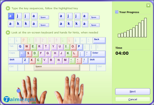 Typing and typing master is 10 delicious