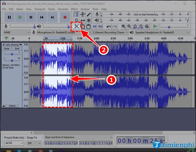 ear audacity