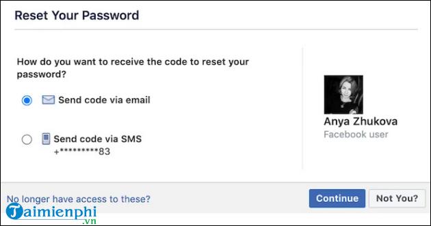 lay lai mat khau tai khoan facebook bi hack