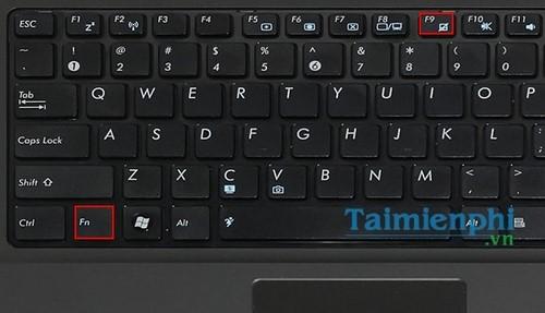 cach tat touchpad tren laptop 8