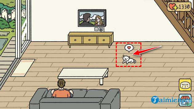 Hướng dẫn chơi game Adorable Home, game nuôi mèo 7