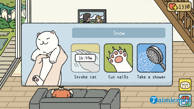 Hướng dẫn chơi game Adorable Home, game nuôi mèo 8