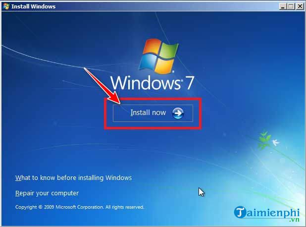 Cách cài Windows 7 bằng usb, tạo usb cài Win 7 15