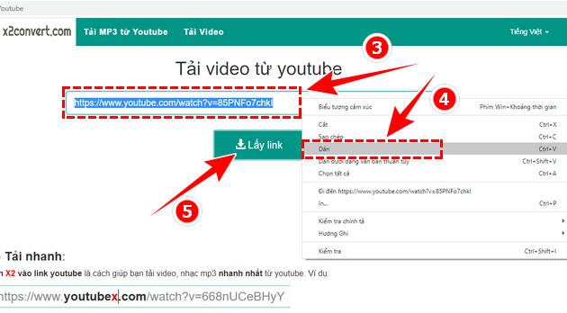 Hướng dẫn tải nhạc mp3 từ Youtube cực nhanh với x2convert 2