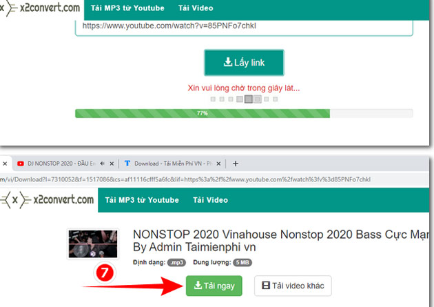 Hướng dẫn tải nhạc mp3 từ Youtube cực nhanh với x2convert 4