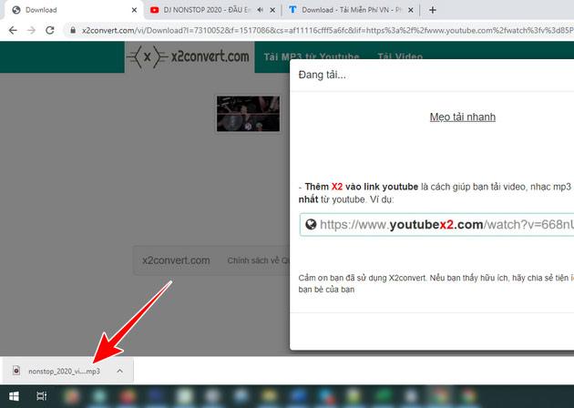 Hướng dẫn tải nhạc mp3 từ Youtube cực nhanh với x2convert 5