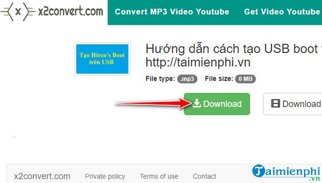 Hướng dẫn tải nhạc mp3 từ Youtube cực nhanh với x2convert 10