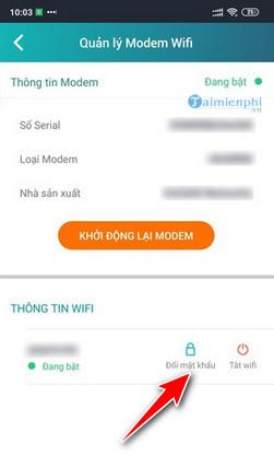 Change wifi password when not in access 192 168 1 1