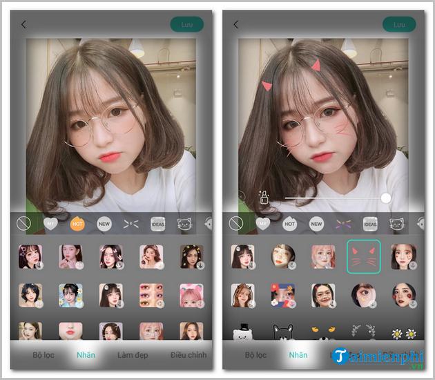 Hướng dẫn sử dụng FaceU trên điện thoại
