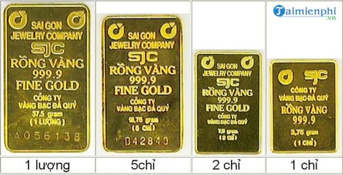 chuyen doi 1 luong vang cay vang sang chi vang