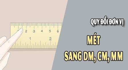 doi do dai 1m sang dm cm mm
