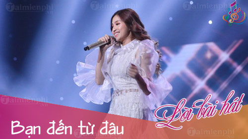 loi bai hat ban den tu dau sing my song
