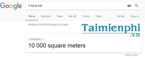 1 Ha bằng bao nhiêu m2, đổi hecta sang mét vuông, km2 vuông 2