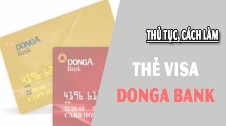 lam the visa donga bank