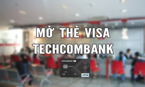 mo the tin dung techcombank