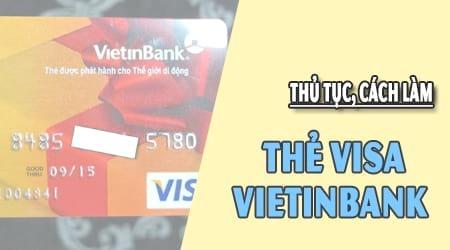 lam the visa vietinbank