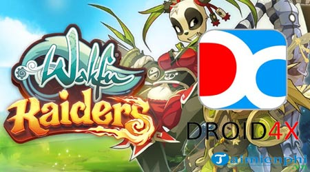 choi game Wakfu Raiders tren may tinh