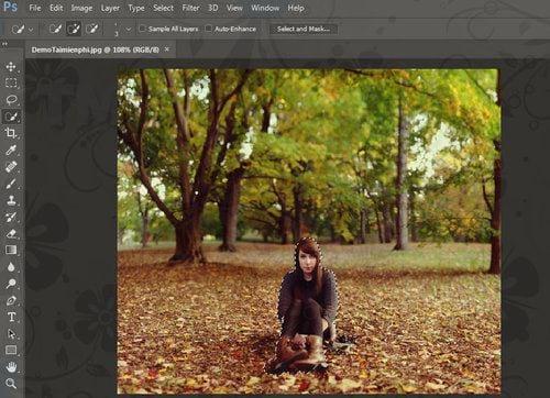Cách thay nền ảnh bằng Photoshop