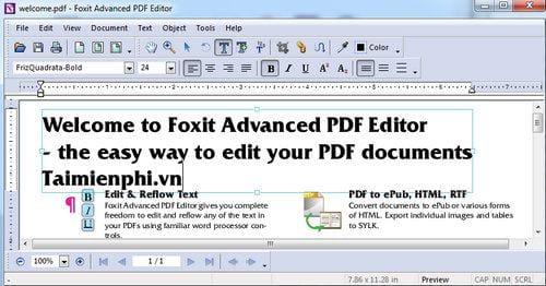 Cách cài đặt Foxit PDF Editor 11