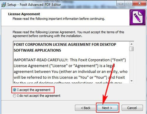 Cách cài đặt Foxit PDF Editor 3