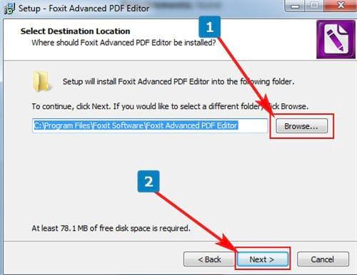 Cách cài đặt Foxit PDF Editor 4