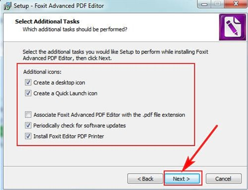 Cách cài đặt Foxit PDF Editor 6
