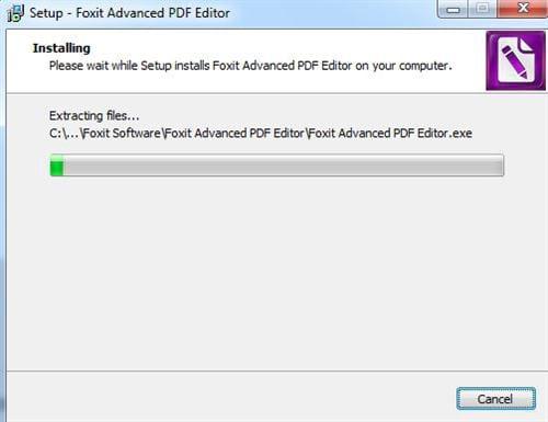 Cách cài đặt Foxit PDF Editor 8