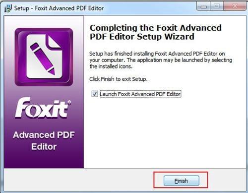 Cách cài đặt Foxit PDF Editor 9