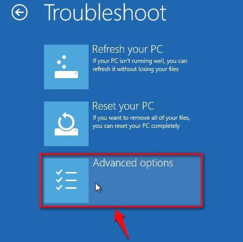 Cách vào Safe mode Windows 10 trong khi Boot vào Windows lỗi 3