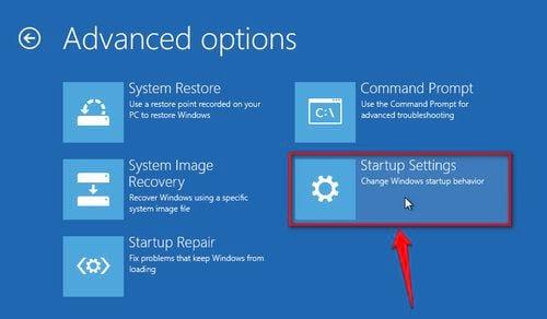 Cách vào Safe mode Windows 10 trong khi Boot vào Windows lỗi 4