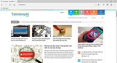 cach chup full 1 trang web bang microsoft edge