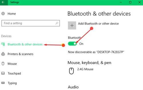 Hướng dẫn kết nối và ngắt kết nối bluetooth trên Windows 10 2