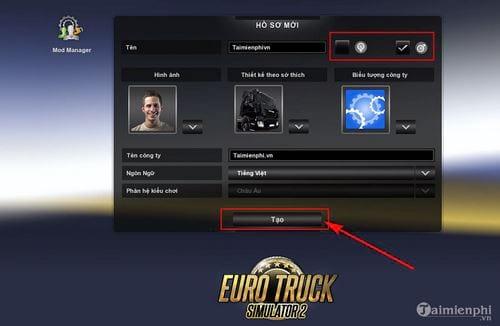 cach cai va choi game mo phong lai xe tai euro truck simulator 8