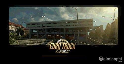 cach cai va choi game mo phong lai xe tai euro truck simulator 12