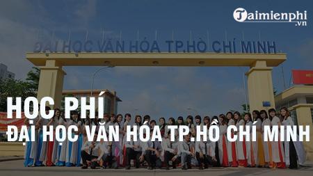 hoc phi dai hoc van hoa tphcm