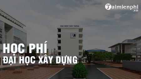 hoc phi dai hoc xay dung ha noi 2016 2017